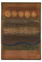 Oriental Weavers Kharma II 167X4 Gold RUG