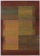Oriental Weavers Kharma II 1092W Green RUG