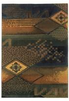 Oriental Weavers Kharma II 618F4 Blue RUG