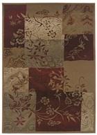 Oriental Weavers Genesis 080X1 Red RUG