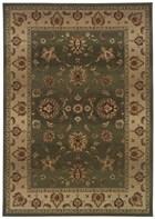 Oriental Weavers Genesis 034F1 Green RUG