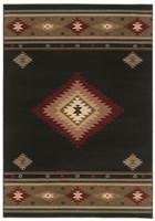 Oriental Weavers Hudson 087G1 Black RUG