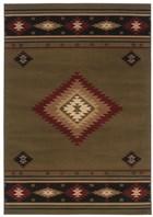 Oriental Weavers Hudson 087J1 Green RUG