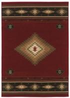 Oriental Weavers Hudson 087K1 Red RUG