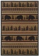 Oriental Weavers Hudson 1066A Black RUG