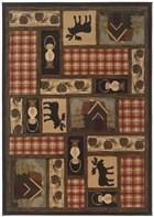 Oriental Weavers Hudson 1067A Brown RUG