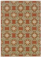 Oriental Weavers Montego 8323D Orange RUG