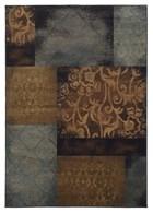 Oriental Weavers Hudson 4878B Blue RUG