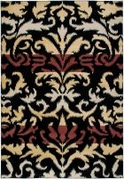RIZZY BAYSIDE BS3575 Black RUG