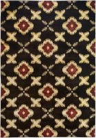 RIZZY BAYSIDE BS3576 Brown RUG