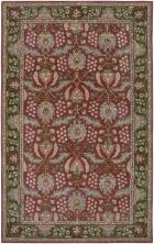 RIZZY BENTLEY BL2628 RED/GREEN RUG