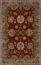 RIZZY BENTLEY BL2684 RED/GREEN RUG
