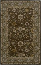 RIZZY BENTLEY BL2689 BROWN/GREEN RUG