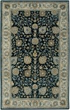 RIZZY BENTLEY BL3136 BLUE/IVORY RUG