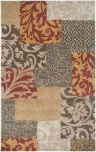 RIZZY BENTLEY BL3138 RUST RUG