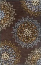 RIZZY BENTLEY BL3140 BROWN RUG