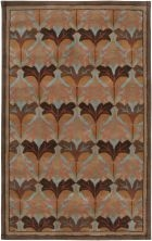 RIZZY CENTURY CY2871 BROWN RUG