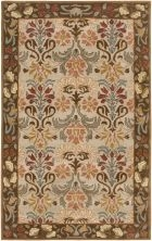 RIZZY CENTURY CY2877 BEIGE/BROWN RUG