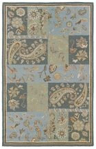 RIZZY COUNTRY CT0023 Blue RUG