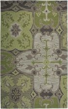RIZZY COUNTRY CT0910 Green RUG