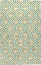 RIZZY COUNTRY CT3123 GREEN RUG