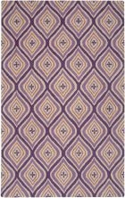 RIZZY COUNTRY CT3124 PLUM RUG