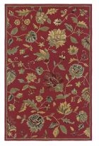 RIZZY DIMENSIONS DI1161 Red RUG