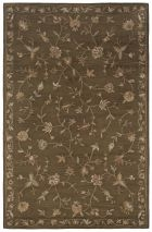 RIZZY FLORAL FL0121 Brown RUG