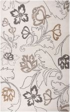 RIZZY FUSION FN0573 Ivory RUG