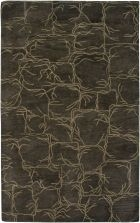 RIZZY HIGHLAND HD2556 BROWN RUG