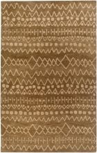 RIZZY HIGHLAND HD3001 BROWN RUG
