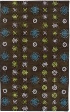 RIZZY VOLARE VO2659 LIGHT BROWN RUG