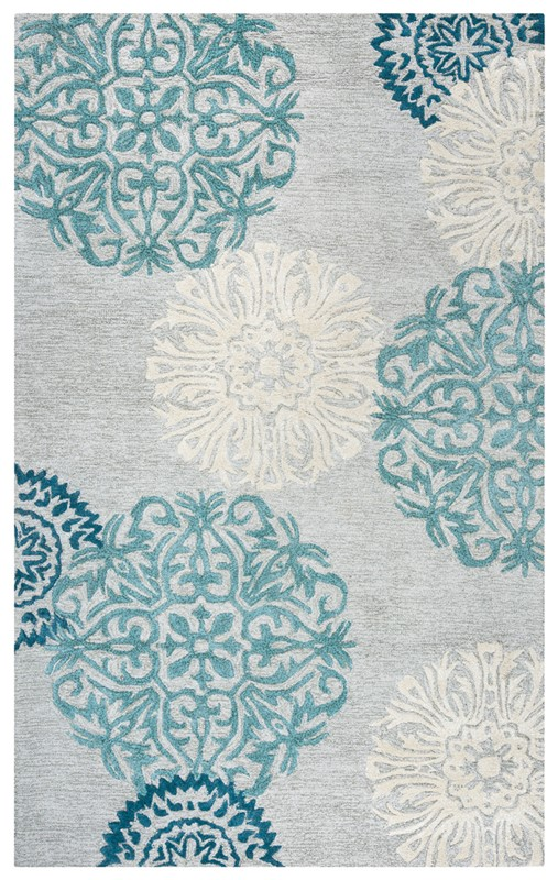 RIZZY DIMENSIONS DI2241 Light Gray RUG
