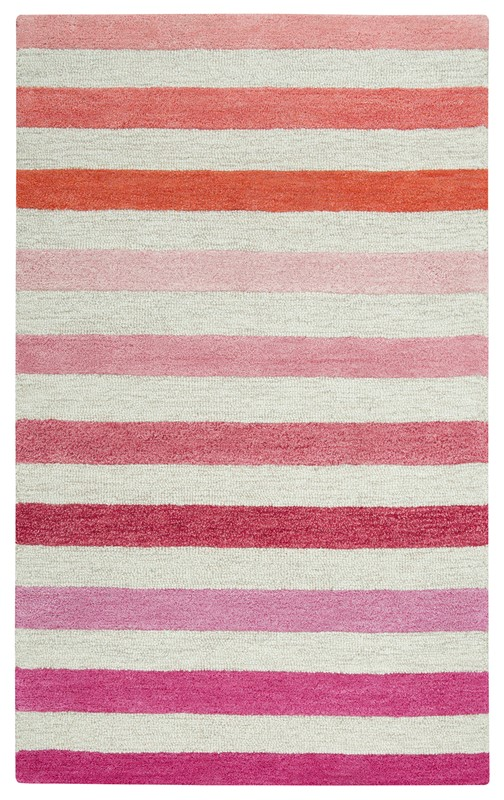 Rizzy Home  Play Day  Youth Pink Rug PD487B