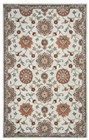 Home Afrozz Home Afrozz Crypt Orange Traditional Rug CY1001