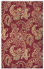 Home Afrozz Home Afrozz Crypt Burgundy  Transitional Rug CY1002