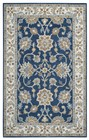 Home Afrozz Home Afrozz Crypt Blue Traditional Rug CY1004