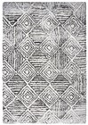 Home Afrozz Home Afrozz Midnight Charcoal Transitional Rug MT1008