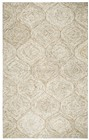 Home Afrozz Home Afrozz London Brown Casual Rug LD1006