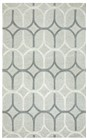 Home Afrozz Home Afrozz Berlin Grey Geometric Rug BN1011