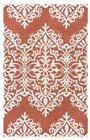 Home Afrozz Home Afrozz Berlin Red Geometric Rug BN1013