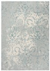 Home Afrozz Home Afrozz Glamour Gray/Blue Transitional Rug GM1002