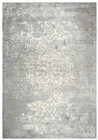 Home Afrozz Home Afrozz Glamour Gray/Cream Transitional Rug GM1003