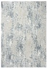 Home Afrozz Home Afrozz Glamour Ceam/Gray Modern Rug GM1007