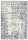 Home Afrozz Home Afrozz Glamour Ceam/Gray Transitional Rug GM1008