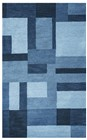 RIZZY COLOURS CL2819 BLUE RUG