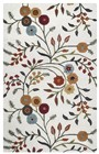 Home Afrozz Home Afrozz Charming Ivory Botanical Rug CM1001