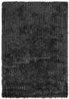 Home Afrozz Home Afrozz Eclipse Black Casual Rug EC1000