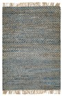 Home Afrozz Home Afrozz Torino Blue Transitional Rug TR1003
