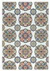 Home Afrozz Home Afrozz Lourdes Grey Contemporary Rug LU1020